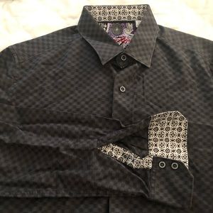 Robert Graham button up dress shirt
